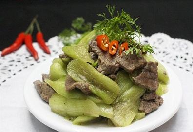 Thịt bò xào bạc hà