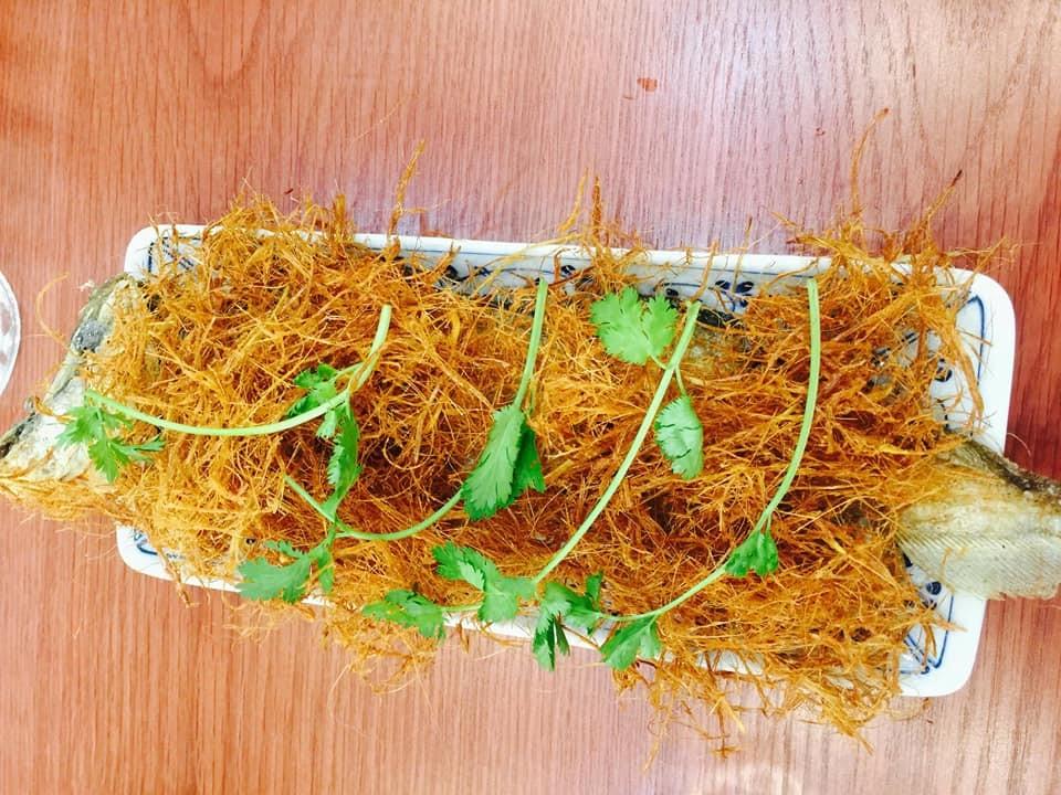 Cá thác lác rút xương (Kim sa) ủ rơm