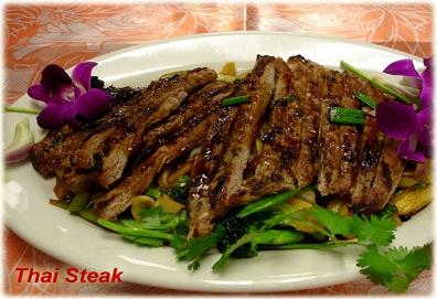 Thai Steak (Bò bít tết kiểu Thailand)