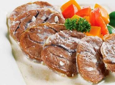 Thịt thưng - Cải luộc