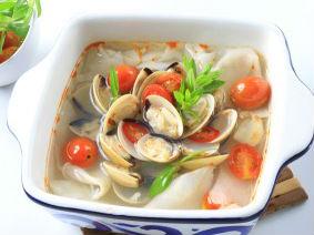 Nghêu Nấu Măng Chua