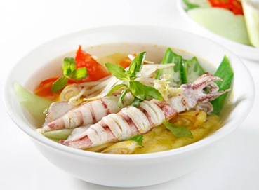 Canh mực