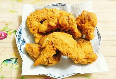 Cánh gà chiên giòn ( KFC )