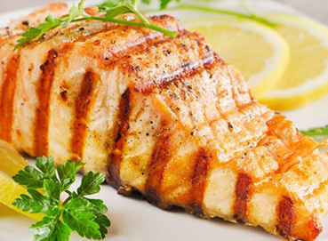 Cá hồi nướng bơ tỏi