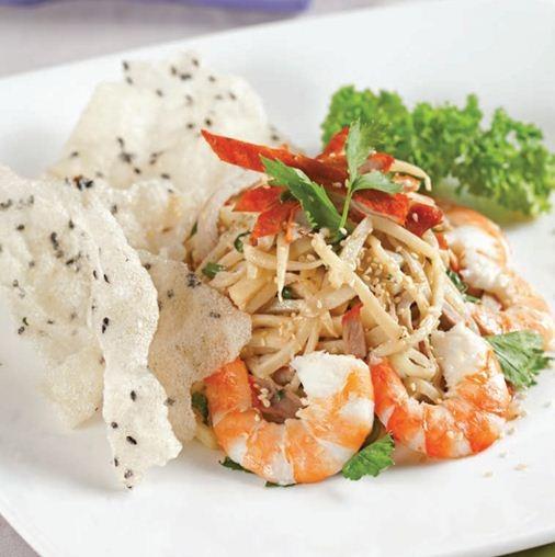 Gỏi Măng Chua Tôm Thịt