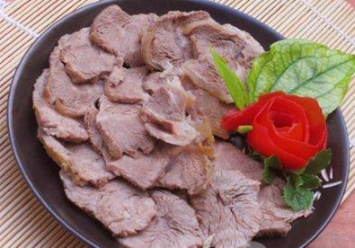 Thịt luộc giầm tương