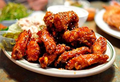 Cánh gà nướng Hàn Quốc