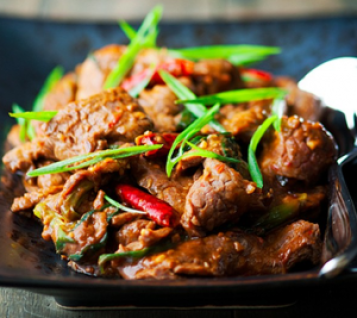 Bò xào Mông Cổ