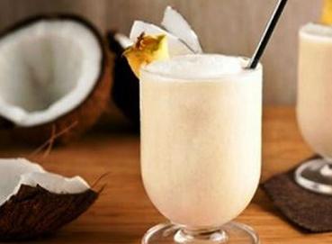Sinh tố sữa dừa