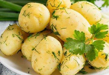 Khoai tây luộc