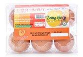 Trứng gà Ba Huân - Vỉ 6 loại 1